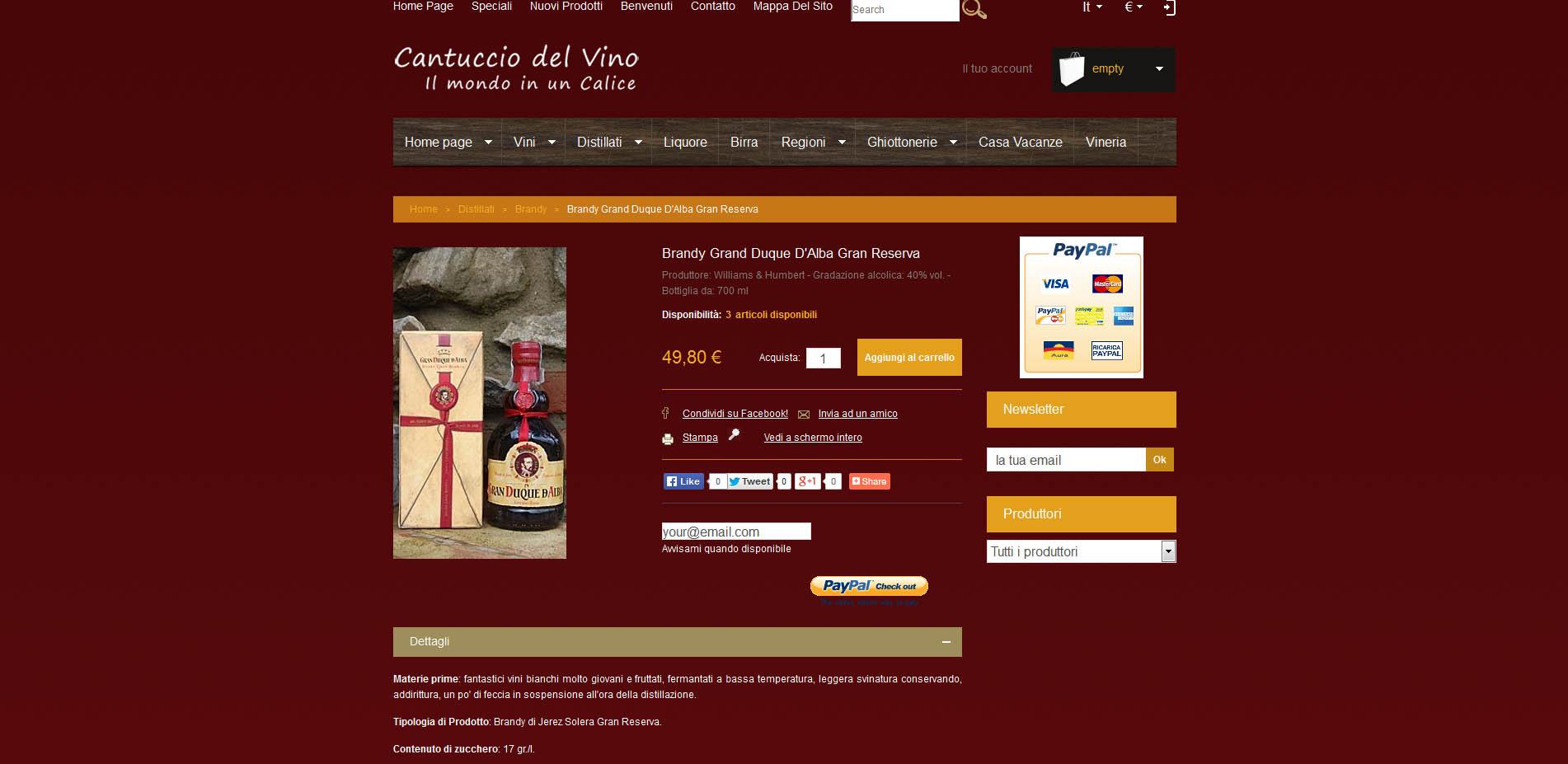 Cantuccio Del Vino