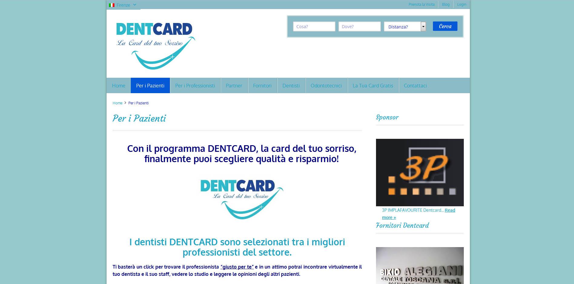 Dentcard