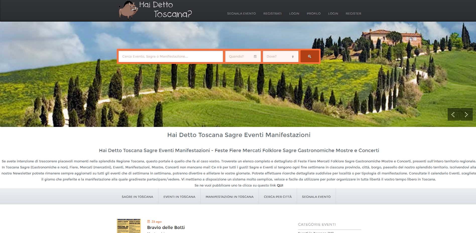 Hai Detto Toscana