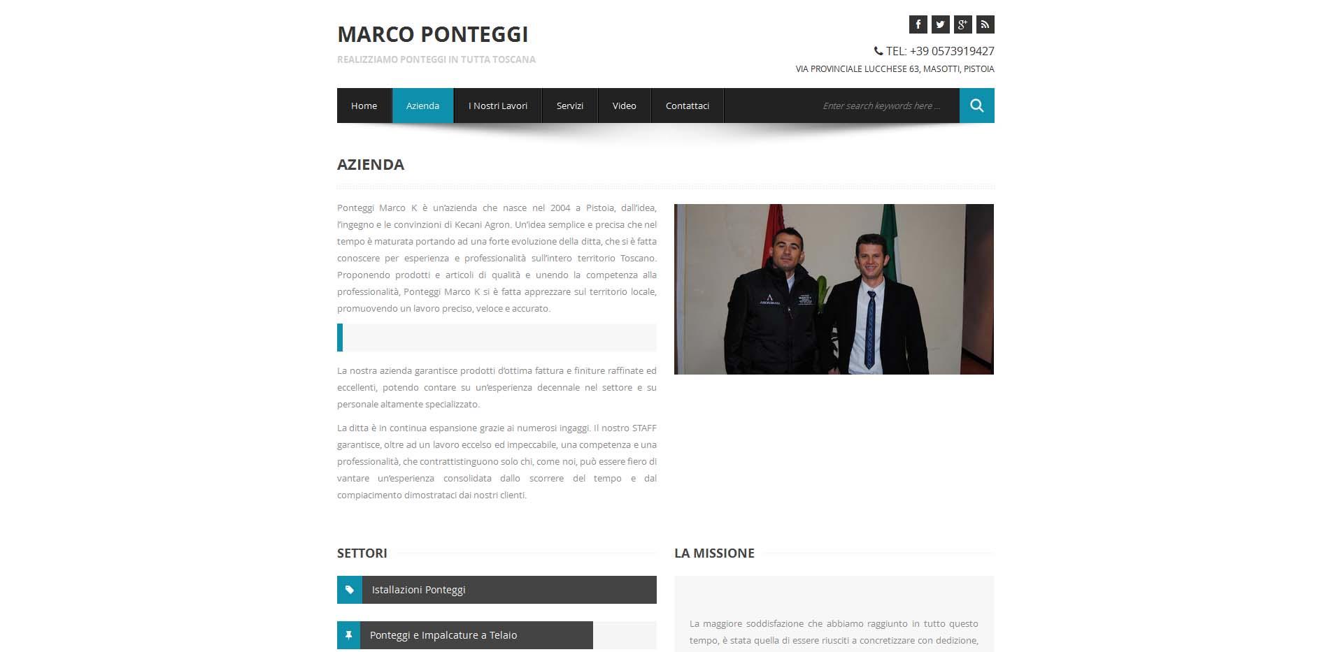 Marco K Ponteggi