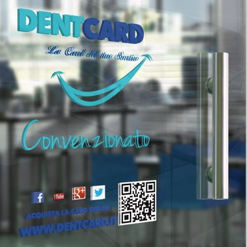 Vetrofania Dent Card