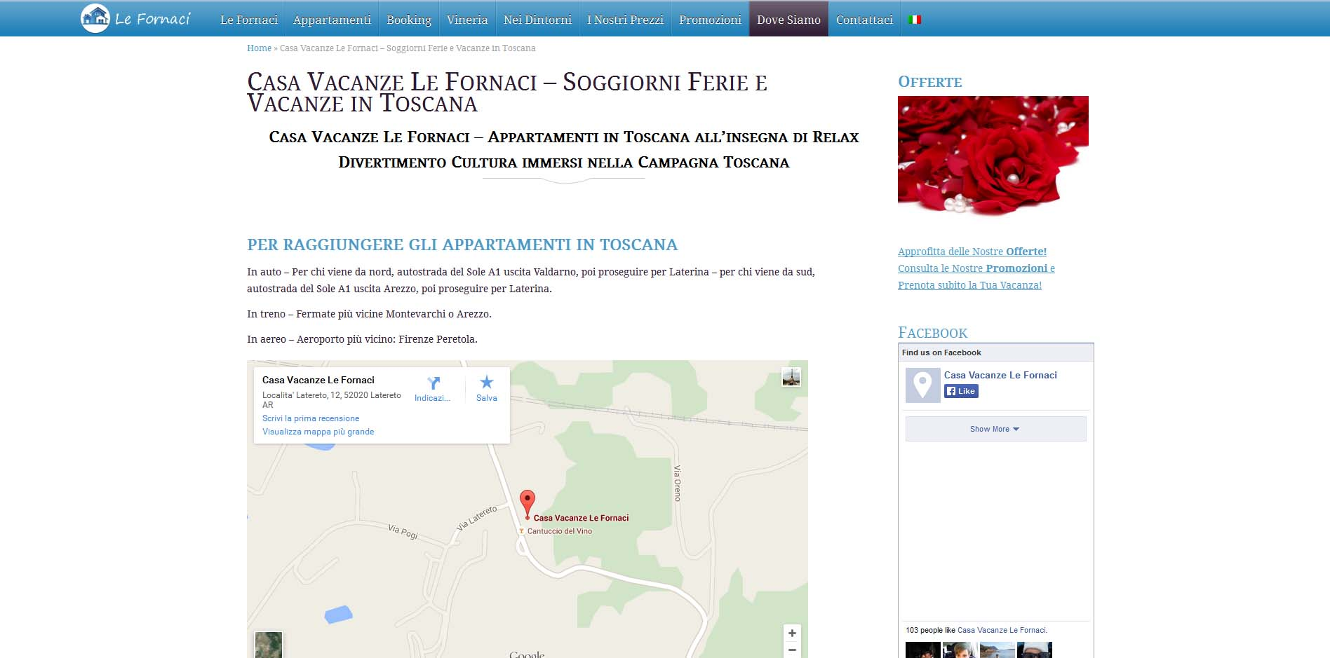Casa Vacanze Le Fornaci
