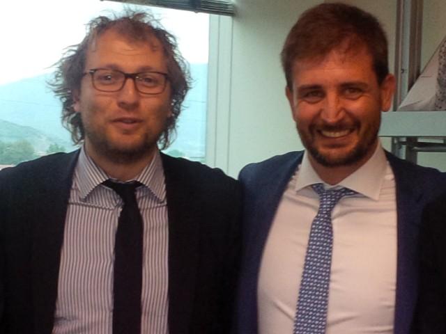 Il Sottosegretario Luca Lotti In Città Per Sostenere La Candidatura Di Nicola Ciolini