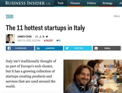 """Quella Lista Di Business Insider Con L'azienda Che Non Esiste Più E La """"startup Yoox"""""""