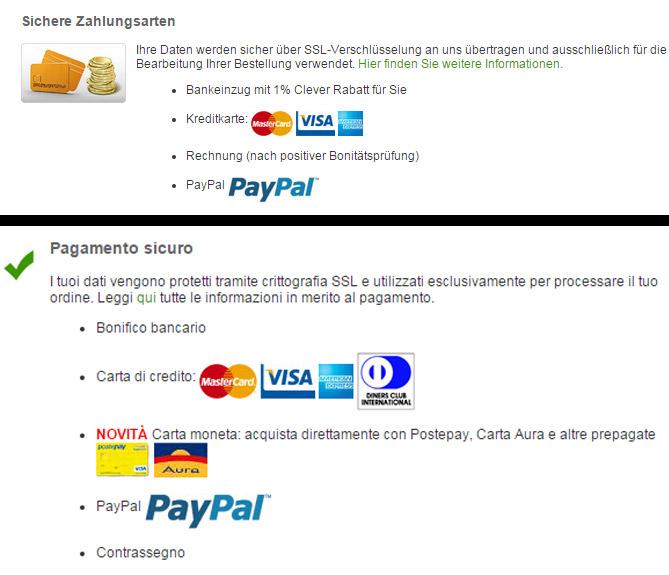 zooplus pagamento