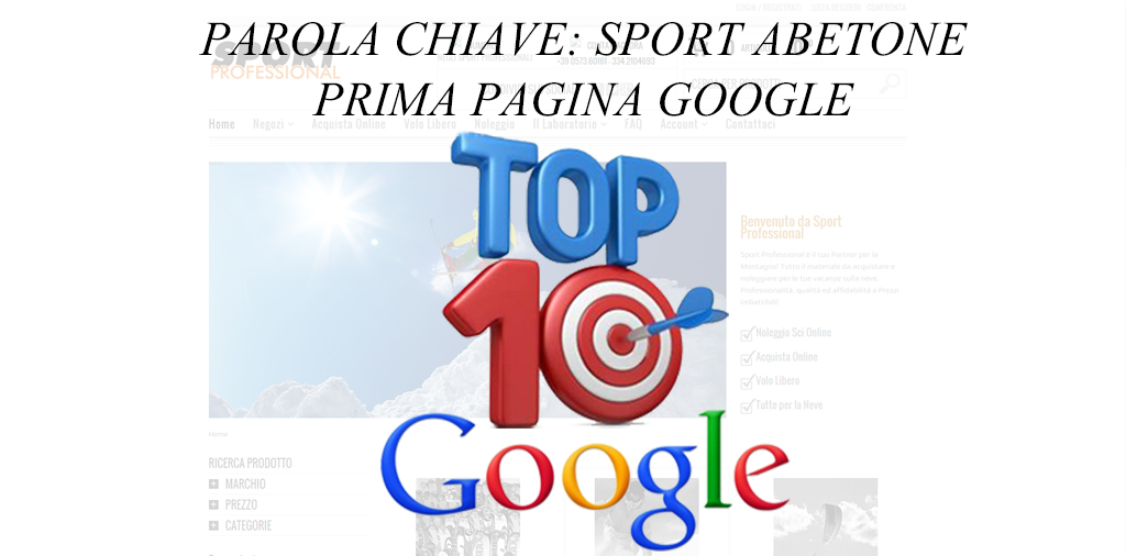 TOP 10 GOOGLE – SPORT PROFESSIONAL