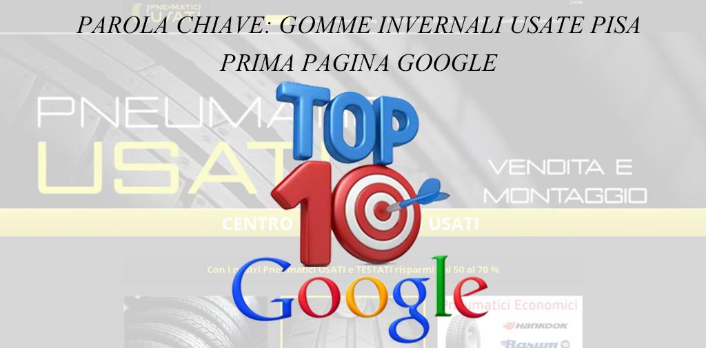 TOP 10 GOOGLE – CENTRO PNEUMATICI USATI