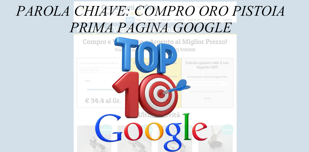 TOP 10 GOOGLE – TOSCO ORO