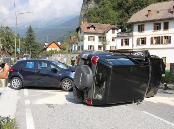 Scontro Fra Due Auto, Ferite Le Conducenti