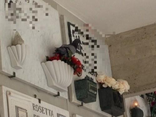 Escrementi Di Piccioni Nel Cimitero Di Chiesanuova
