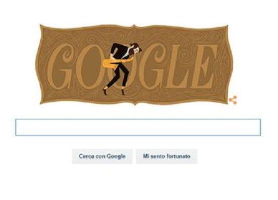Google Doodle A Adolphe Sax, Inventore Del Sassofono