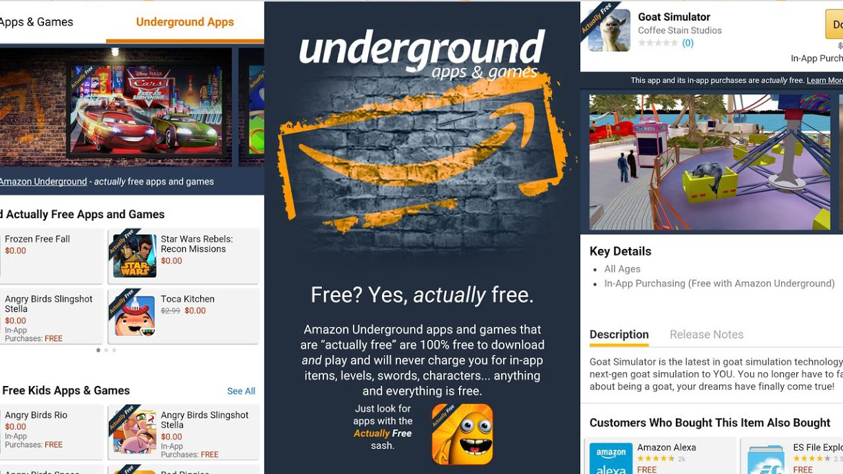 Amazon Underground, Il Servizio Per Scaricare App Gratuite Android