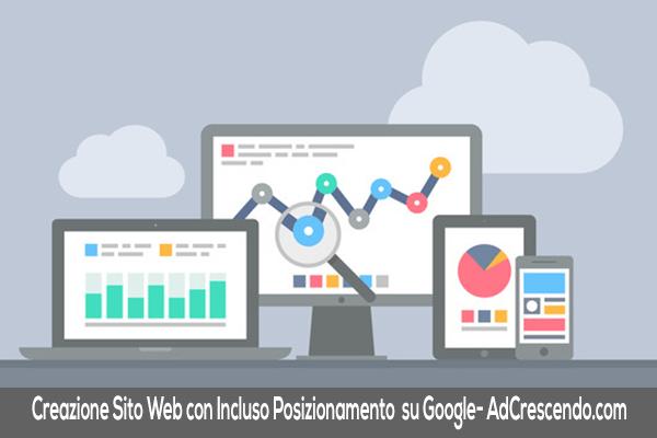 Creazione Sito Web Con Posizionamento Su Google