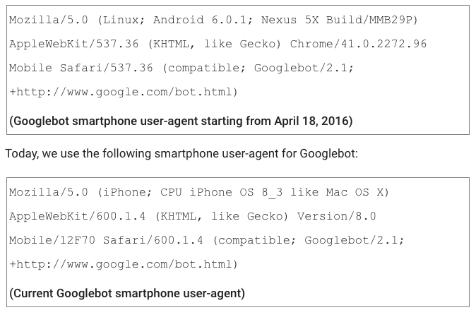 Googlebot Mobile Cambia Pelle, Da IPhone Ad Android
